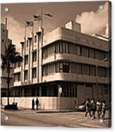 Miami Beach - Art Deco 35 Acrylic Print