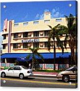 Miami Beach - Art Deco 38 Acrylic Print