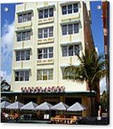 Miami Beach - Art Deco 43 Acrylic Print