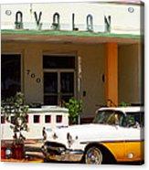 Miami Beach - Art Deco Acrylic Print