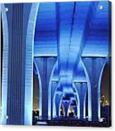 Miami Bridge Acrylic Print