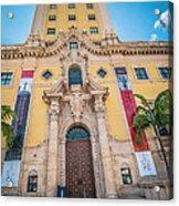 Miami Freedom Tower 2 - Miami - Florida Acrylic Print