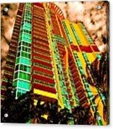 Miami South Pointe II Acrylic Print