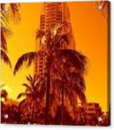 Miami South Pointe Iv Acrylic Print
