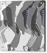 Michael Jackson A La Warhol By Dominique Amendola Acrylic Print