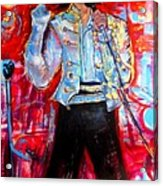 Michael Jackson I'll Be There Acrylic Print