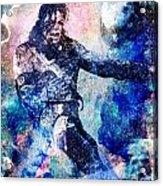 Michael Jackson Original Painting  Acrylic Print