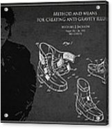 Michael Jackson Patent Acrylic Print
