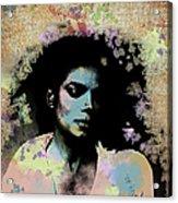 Michael Jackson - Scatter Watercolor Acrylic Print