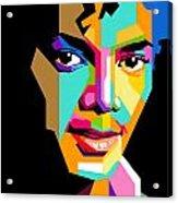 Michael Jackson Young Acrylic Print