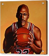Michael Jordan 2 Acrylic Print