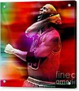 Michael Jordon Acrylic Print