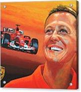 Michael Schumacher 2 Acrylic Print