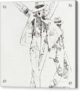 Michael Smooth Criminal Acrylic Print