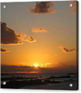 Michael's Sunset Acrylic Print