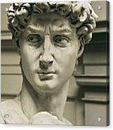 Michelangelo 1475-1564. David Acrylic Print