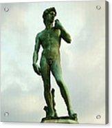 Michelangelo's David 2 Acrylic Print
