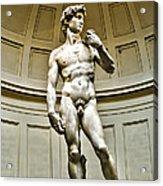 Michelangelos David  Acrylic Print