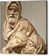 Michelangelo's Final Pieta Acrylic Print