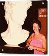 Michelangelos Statue Of David Acrylic Print