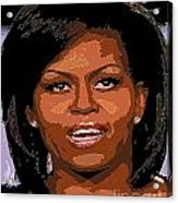 Michelle Obama Acrylic Print