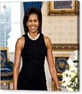 Michelle Obama Acrylic Print by Official White House Photo
