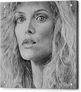 Michelle Pfeiffer Acrylic Print