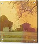 Michigan Barns Acrylic Print