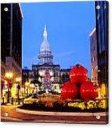 Michigan Capital Acrylic Print