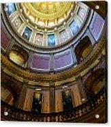 Michigan Capitol Dome Acrylic Print