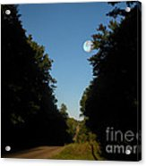 Michigan Country Road Acrylic Print
