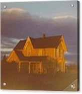Michigan Farm House Acrylic Print