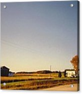 Michigan Landscapeand Barns Acrylic Print