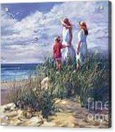 Michigan Shore Memories  Acrylic Print