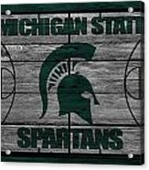 Michigan State Spartans Acrylic Print