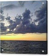 Michigan Sunset Acrylic Print