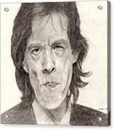 Mick Jagger 2 Acrylic Print