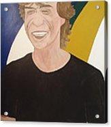 Mick Jagger Acrylic Print
