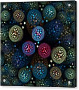 Microbial Acrylic Print