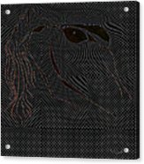 Microdot Acrylic Print
