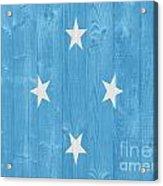 Micronesia Flag Acrylic Print