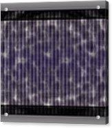 Microscopic Scale - Purple  Acrylic Print
