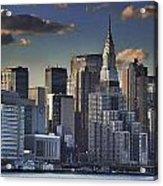 Mid Manhattan In Hdr Acrylic Print