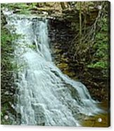 Middle Branch Falls Upper Tier #1 Acrylic Print