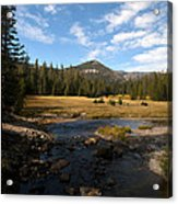 Middle Fork Of The San Joaquin River Acrylic Print