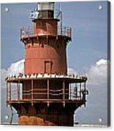 Middle Ground Lighthouse Acrylic Print