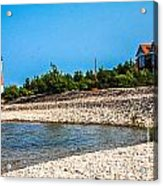 Middle Island Lighthouse Acrylic Print