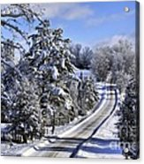 Middle Road Franklin Acrylic Print