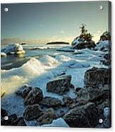 Middlebrun Bay Sunset II Acrylic Print