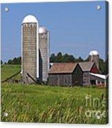 Middlebury Vermont Barn Acrylic Print